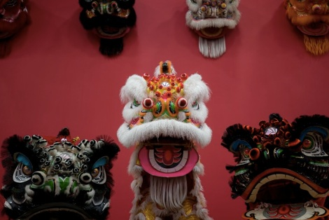 Living Room Museum Lion Dance exhibition 3