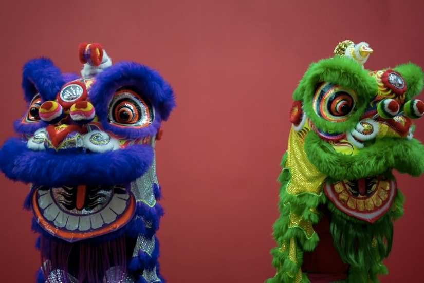 Living Room Museum Lion Dance exhibition 5