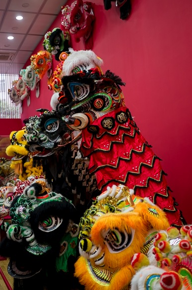 Living Room Museum Lion Dance exhibition 6