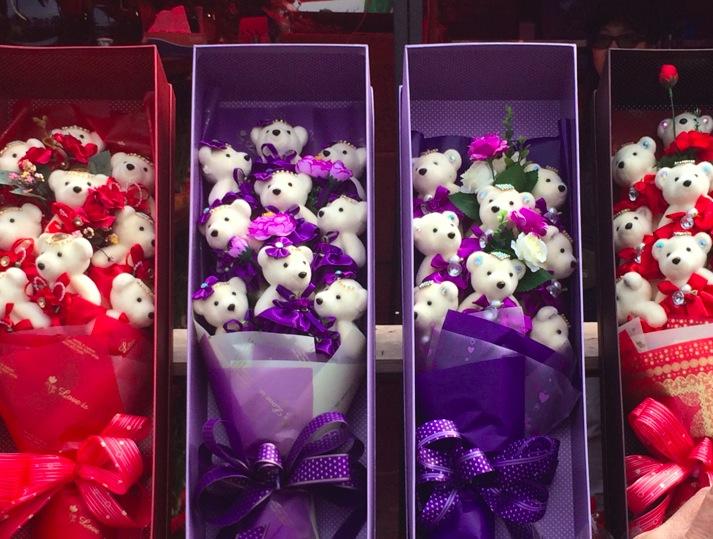 Victoria Lunar Flower Market 2015-4 Valentine's Day