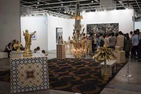 Art Basel in Hong Kong 2015 10 Around the way by Carlos Rolon (Dzine)