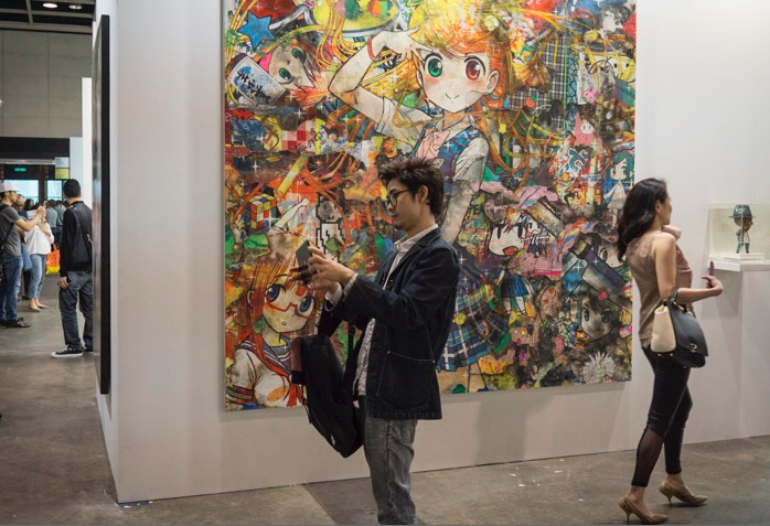 Art Basel in Hong Kong 2015-16