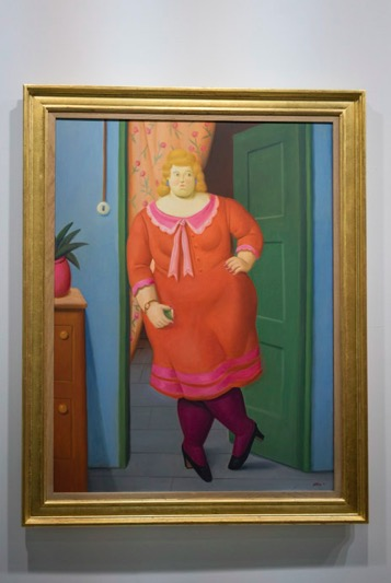Art Basel in Hong Kong 2015 Fernando Botero 1