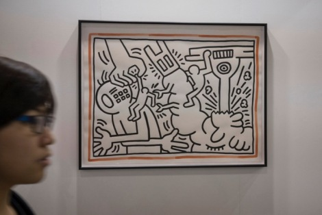 Art Basel in Hong Kong 2015 Keith Haring