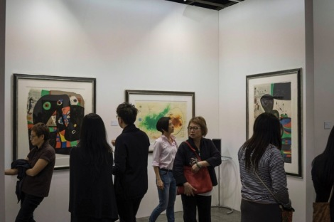 Art Basel in Hong Kong 2015 Miro