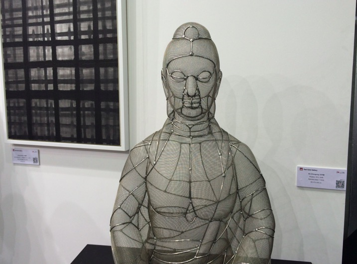 Art Central Hong Kong 2015 Dhyana by Shi Zhongying