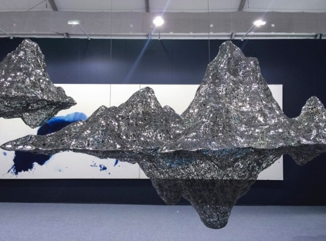 Art Central Hong Kong 2015 Impression of Hongren's Landscape by Zheng Lu 1