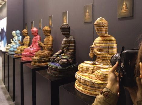 Art Central Hong Kong 2015 Parallel Meditation Password by Yang Tao 1