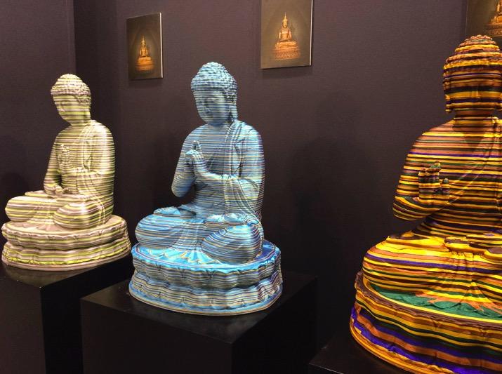 Art Central Hong Kong 2015 Parallel Meditation Password by Yang Tao 2