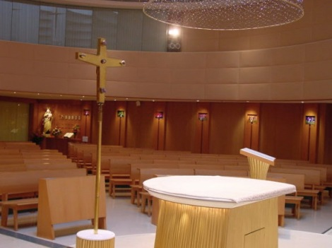 Our Lady of Mount Carmel Church Inside 4