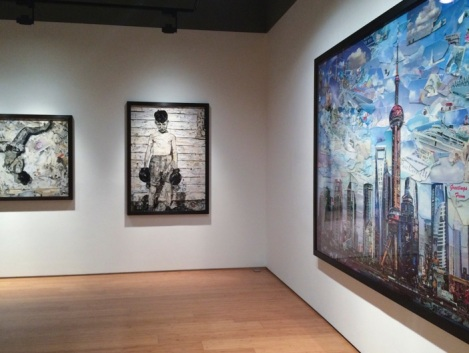 Vik Muniz exhibition at Ben Brown Fine Arts Hong Kong 2015-2