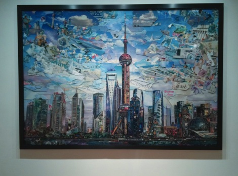 Vik Muniz exhibition at Ben Brown Fine Arts Hong Kong 2015-3