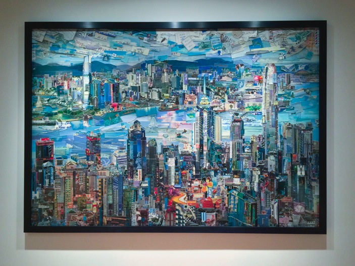 Vik Muniz exhibition at Ben Brown Fine Arts Hong Kong 2015-4