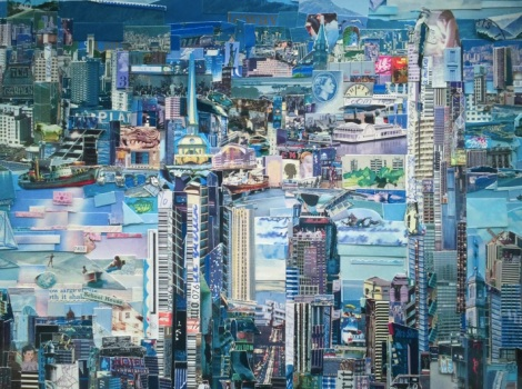 Vik Muniz exhibition at Ben Brown Fine Arts Hong Kong 2015-5