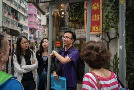 Wan Chai Walk in HK Tour 5