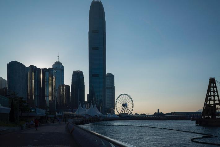 Observation Wheel at Hong Kong Harbour Front in April 2015-5