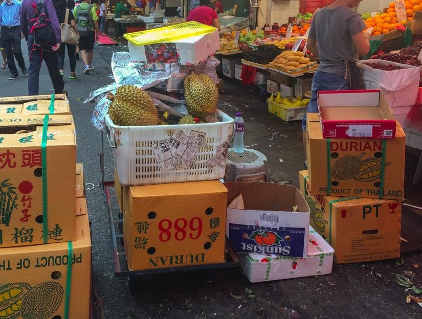 Bowrington Street Market Durian 2