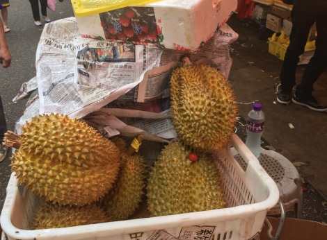Bowrington Street Market Durian 3