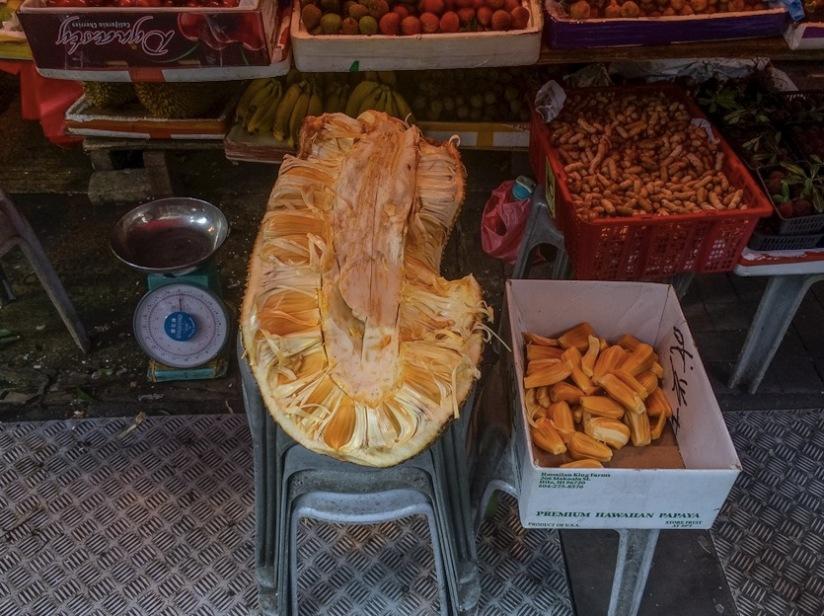 Bowrington Street Market Durian Jack Fruit