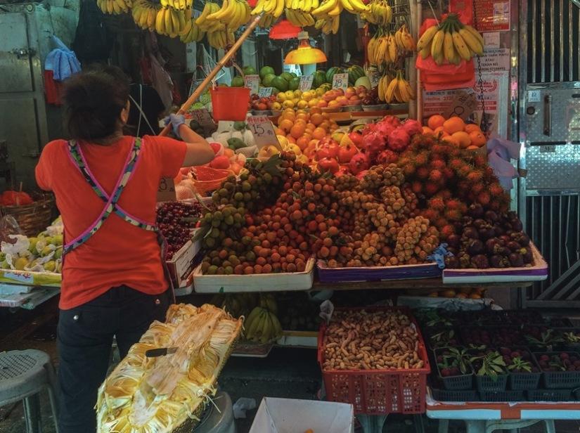 Bowrington Street Market Fruit Stall 1