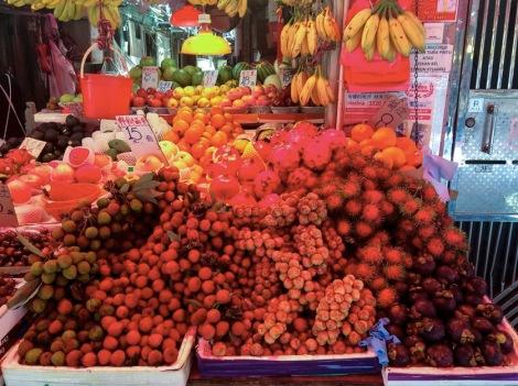Bowrington Street Market Fruit Stall 2