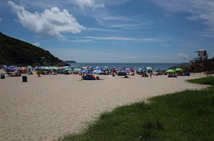 Dragon's Back Hike August 2015-13 Big Wave Bay Beach