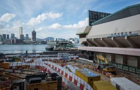 Wan Chai Ferry Pier August 2015-2