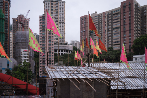 Ghost Festival at Moreton Terrace Temporary Playground Sep 2015-1