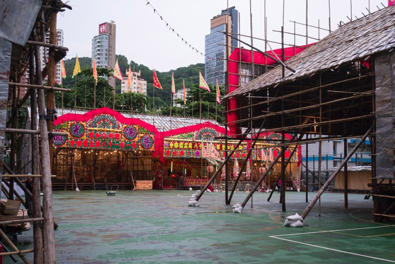 Ghost Festival at Moreton Terrace Temporary Playground Sep 2015-3