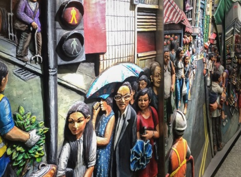 Mural at Sai Ying Pun Station August 2015-4