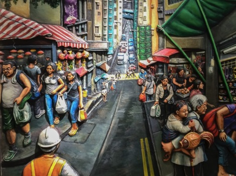 Mural at Sai Ying Pun Station August 2015-6