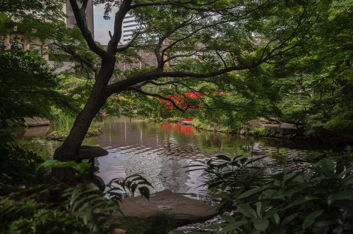 Tokyo New Otani Hotel Garden 2015-1