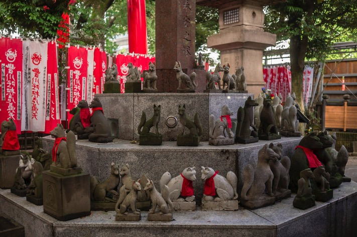 Tokyo Toyokawa Inari Shrine 2015-5
