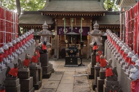 Tokyo Toyokawa Inari Shrine 2015-6
