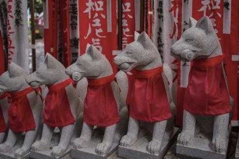Tokyo Toyokawa Inari Shrine 2015-8