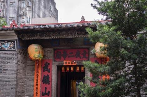 Tai Po Man Mo Temple Sep 2015-0