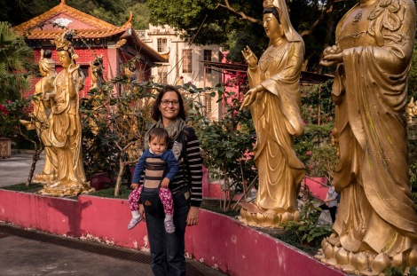 10000 Buddhas in Sha Tin Hong Kong Jan 2016-13