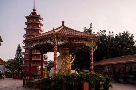 10000 Buddhas in Sha Tin Hong Kong Jan 2016-14