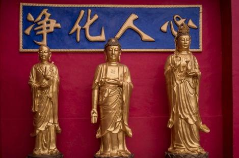 10000 Buddhas in Sha Tin Hong Kong Jan 2016-5
