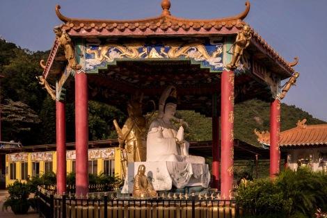 10000 Buddhas in Sha Tin Hong Kong Jan 2016-8