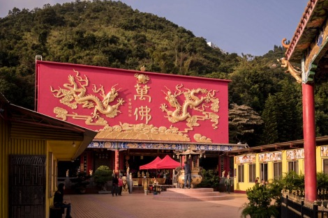 10000 Buddhas in Sha Tin Hong Kong Jan 2016-9