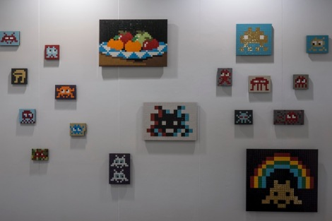 Art Central Hong Kong 2016-10 Invader