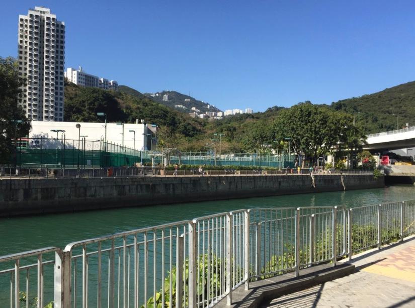 Hong Kong Aberdeen Waterfront February 2016-11