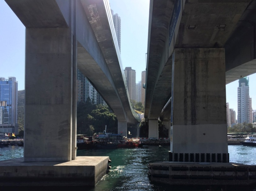Hong Kong Aberdeen Waterfront February 2016-8