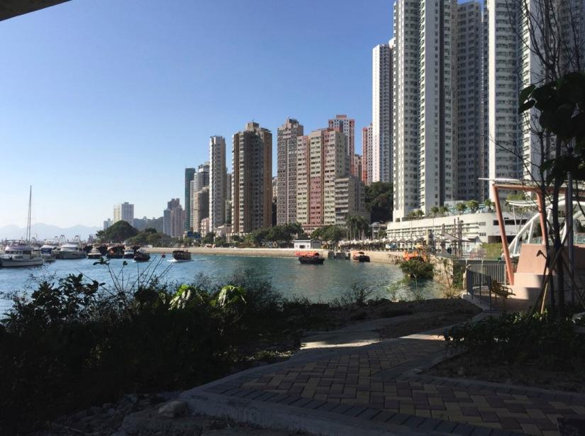 Hong Kong Aberdeen Waterfront February 2016-9