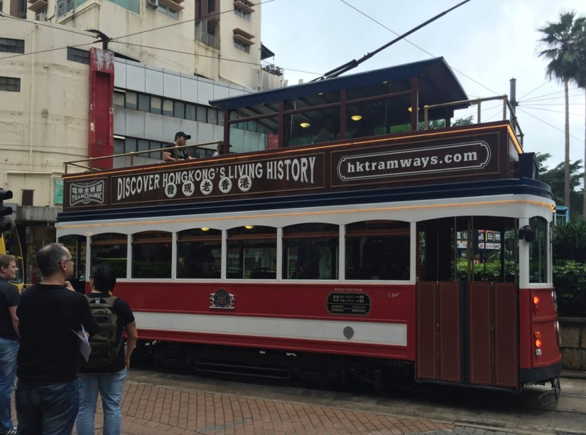 Hong Kong TramOramic Tour February 2016-2