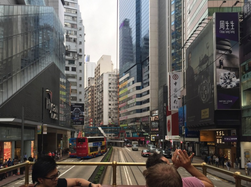 Hong Kong TramOramic Tour February 2016-7