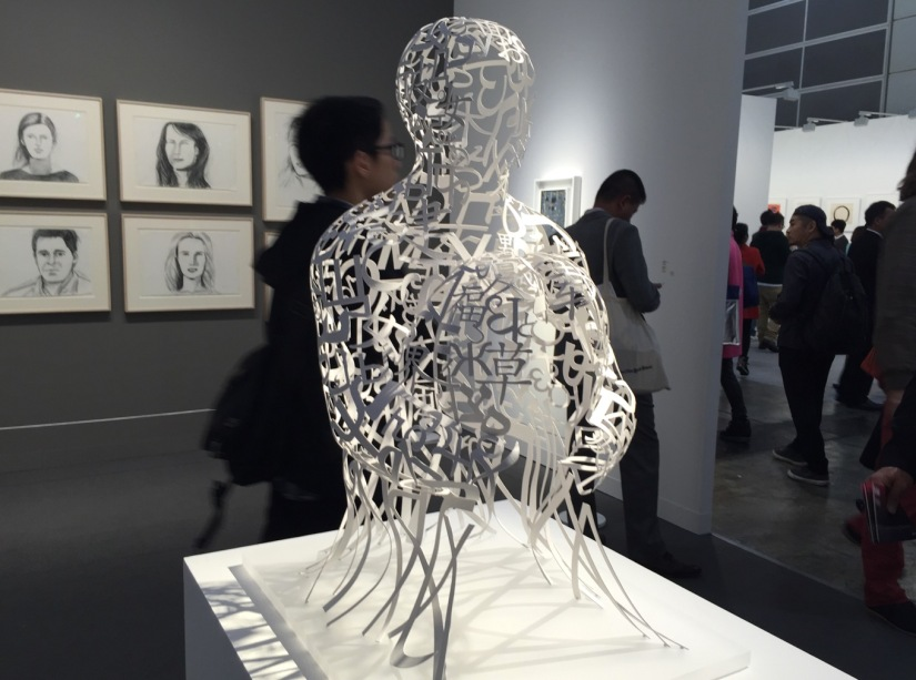 Art Basel Hong Kong 2016-6 Jaume Plensa