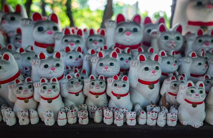 Tokyo Gotokuji Cat Shrine 2015-10