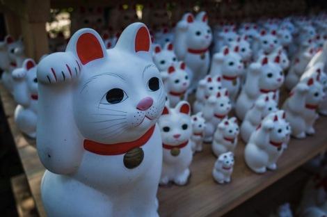 Tokyo Gotokuji Cat Shrine 2015-18